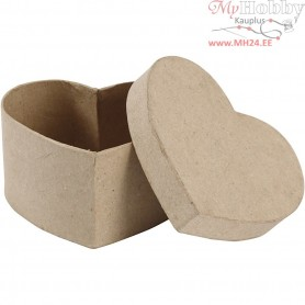 Heart-shaped Box, heart, size 11,5x11,5 cm, H: 6 cm, 1pc
