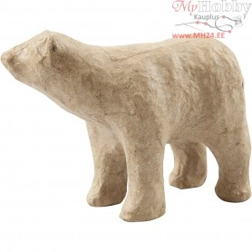 Polar Bear, H: 8,5 cm, L: 11,5 cm, 1pc