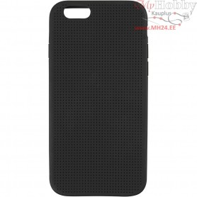 Mobile Phone Cover To Embroider, 6/6S, size 6,8x13,8 cm, thickness 8 mm, black, 1pc