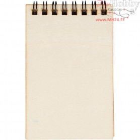 Note Book, size 7,5x11,5 cm, plywood, 24pcs