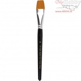 Gold Line Brush, size 20 , W: 24 mm, flat, 6pcs