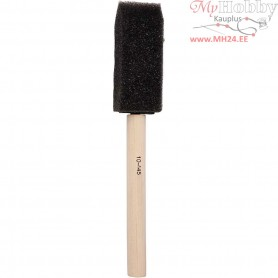 Foam Brushes, W: 25 mm, 10pcs