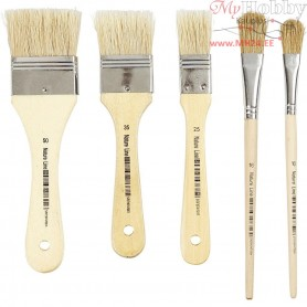 Varnish Brushes, 10mixed