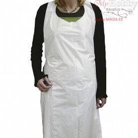 Disposable Aprons, H: 110 cm, W: 80 cm, 100pcs