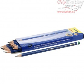 Robinson Pencils, D: 6,8 mm, lead: 2 mm, Hardness: H, 12pcs