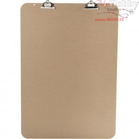 Easel Clipboard, size 52x74 cm, thickness 5 mm, MDF, 1pc, A2