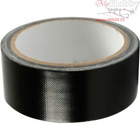 Duct Tape, W: 38 mm, black, 25m