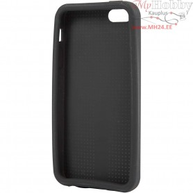 Mobile Phone Cover To Embroider, 5/5S, size 12,5x6 cm, thickness 10 mm, black, 1pc