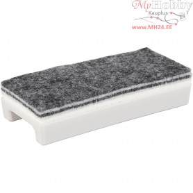 Whiteboard Eraser,  6x14 cm, 1pc