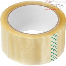 Packaging Tape, W: 48 mm, 66m