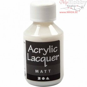 Acrylic Varnish, Matt, 100ml