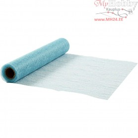 Table Runner, light turquoise, W: 30 cm, net, 10m