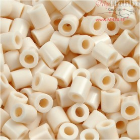 PhotoPearls, size 5x5 mm, hole size 2,5 mm, light beige (12), 1100pcs