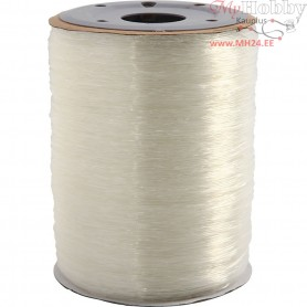 Elastic Beading Cord, thickness 1 mm, round, 500m