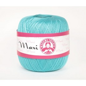 Cotton Yarn Madame Tricote / Maxi 100 - Colour 5353 (Light Turquoise)