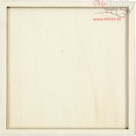 83d8167efb3 Frame, size 10x10 cm, thickness 4 mm, plywood, 20pcs, inner size