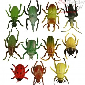 Insects, size 5 cm, 60mixed