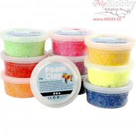 Foam Clay®, asstd colours, Basic, 10x35g