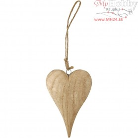 Heart, Basic, H: 15 cm, thickness 25 mm, 1pc