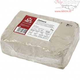 Stoneware clay, off-white, 5kg