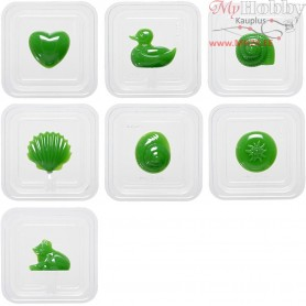 Casting Mould, size 5-7 cm, 3D, 7mixed