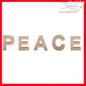 Letters, PEACE, size 17,5 cm, thickness 5,5 cm, 1set