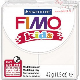 FIMO® Kids Clay, white, 42g