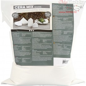 Cera-Mix Exclusive Casting Plaster, white, Weatherproof, 5kg