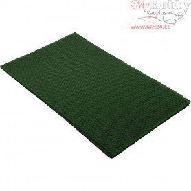 Beeswax Sheets, size 20x33 cm, thickness 2 mm, green, 1pc