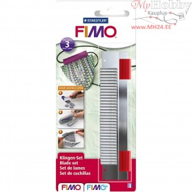 FIMO mixed blade set, 3pcs