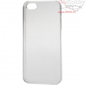 Mobile Phone Cover, 5/5S, size 6x12,5 cm, thickness 10 mm, transparent, 1pc
