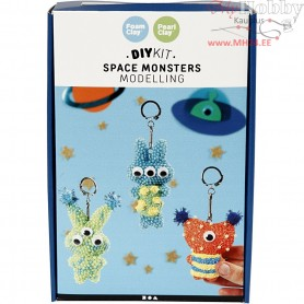 Space Monsters, modelling, 1set