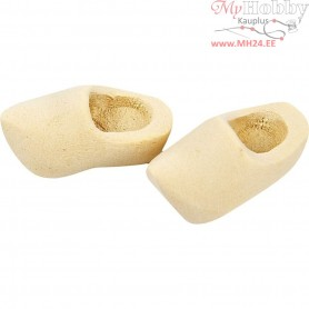 Dutch Wooden Clogs, L: 30 mm, 2pairs