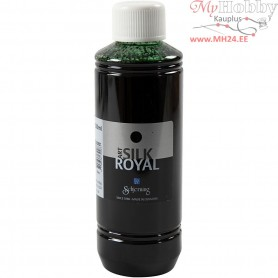 Silk Royal Paint, moss green, 250ml