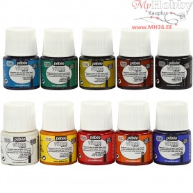 Vitrea 160 Glass And Porcelain Paint, 10x45ml