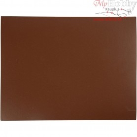 Lino Block, size 30x39 cm, thickness 4,5 mm, brown, 1pc