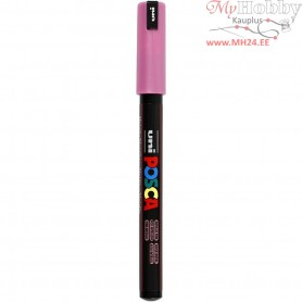 Uni Posca Marker, line width: 0,7 mm,  PC-1MR , metallic pink, extra-fine, 1pc