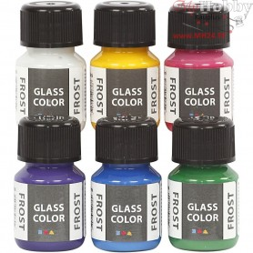 Glass Color Frost, 6x35ml