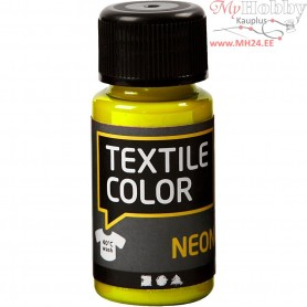 Textile Color Paint, neon yellow, 50ml