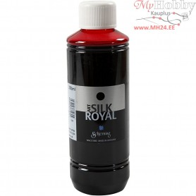 Silk Royal Paint, scarlet, 250ml