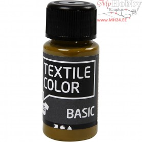 Textile Color Paint, olive-brown, 50ml