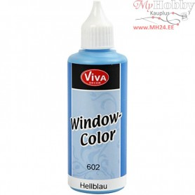 Viva Decor Window Color, light blue, 80ml