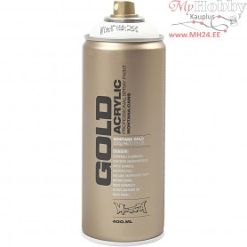 Spray paint, white, White, 400ml
