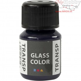 Glass Color Transparent, navy blue, 35ml