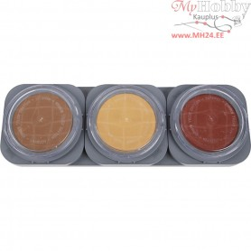 Cake Make-Up Palette, 3x35g