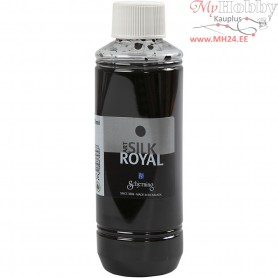 Silk Royal Paint, grey, 250ml