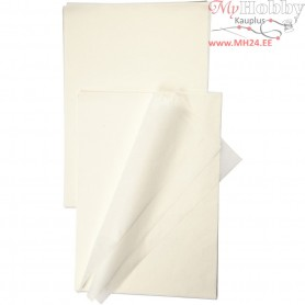Imitation Rice Paper,  14 g, white, 100sheets