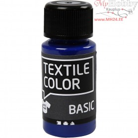 Textile Color Paint, primary blue, 50ml