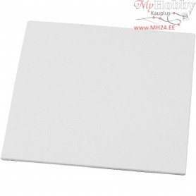 Canvas Panel, size 15x15 cm, thickness 3 mm, 280 g, 10pcs