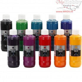 Textil Silk Paint, 10x250ml